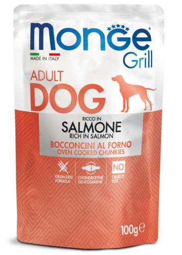 Monge Dog Grill - With Salmon